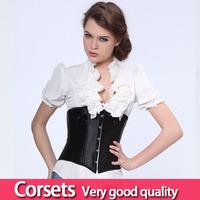 Сексуальное белье два цвета черный белый гот талии подготовки корсет лиф лучшие Корсеты женщин s-6xl
