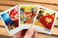 Бумага для писем 40 pcs/ lot, palm civet/ leopard cat mini lomo card, thanks, message, greeting card, DIY card, ! WJ11
