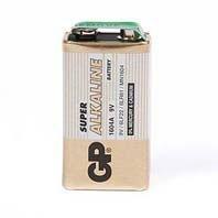 5pcs GP 9V 1604A PP3 6LF22 6LR61 Alkaline Battery