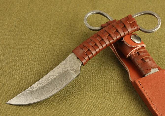 Как сделать нож охотничий ножны для ножа видео