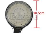 3Pcs/Lot LED Temperature Control 3 Colors Light Wall Mount Bathroom Shower Head Free Shipping 2331