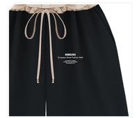 Новая весна лето новые женские vogue стиль ретро кружева рукавов жилета junpsuits падение доставки падение судоходство