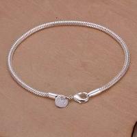 Серебряный браслет 925 sterling silver jewelry bracelet fine fashion bracelet top quality and retail SMTH187