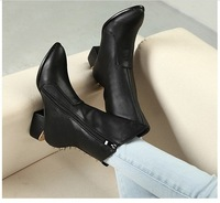 free shipping,2012 Euramerican fashion cool rivets buckle motorcycle woman boots flats,lady boots,women boots riding equestrian
