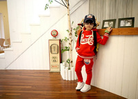 Комплект одежды для девочек 2013 New Children put letters red blue hooded fleece long-sleeved casual sport suits hz8D40