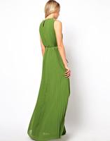 женщин сексуальные этаж Длина рукавов шифон платья плюс размер 6183 vestir vestidos Лонго feminino femininas