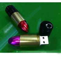 USB-флеш карта genuine 2G 4G 8G 16G 32G usb drive thumb drive usb flash drive memory metal rouge lipstick