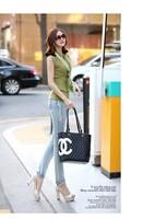 Женские джинсы 2013 new slimming pencil jeans woman hot beads diamond Korean fashion skinny jeans NZK002