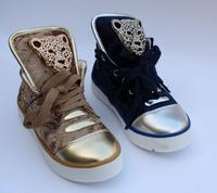 Пожалуйста, скажите евро размер, когда порядок размер 21-37 детей обувь детей кроссовки для мальчиков и девочек спортивная обувь голову леопарда пантера