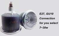 острые початка g53 ar111 qr111 1 * 7w 12v 3000 ~ 3500k теплый белый 15 градусов 220/230В затемняемый светодиодные прожектора
