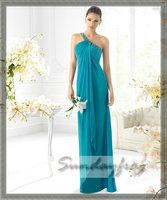 пользовательские сделал Макс онлайн бисером одно плечо длиной до пола, шифона вечернее платье платье - ls5035