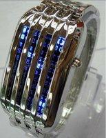 Наручные часы 10pcs/lot 44 lights LED watch with fashionable design of star shower