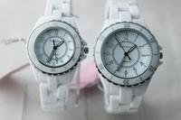 Розничная 1 шт новые кварцевые часы керамические часы роскошный бренд женщин платье часы ni009