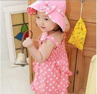 Платье для девочек girls pink dot baby dress