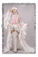 Маскарадный костюм TF costume CLAMP Chobits Chii luxurious dress COSPLAY COSTUME Dress any size Cosplay Japanese Anime white dress