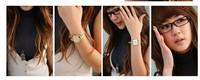 Наручные часы Miin Order 10 USD 2013 Watchband Leather Strap Watch Women's Wrist Belt Watch SPX2283