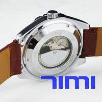 Big NO. Mens Tourbillion Automatic Mechanical Watch