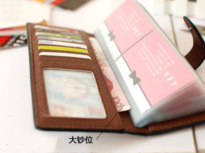 משלוח חינם הקמעונאי הסיטונאי Hasp 55 כרטיסי מוצק צבע עור pu hasp נשים נקבה עסקים מזהה כרטיס אשראי המקרים מחזיקי 002
