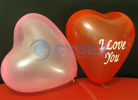 Воздушный шар 50Pcs/Lot Assorted Colors Wedding Birthday Party Decoration Heart Shaped Latex Balloons 6975
