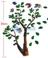Стикеры для стен Hot Selling Trees And Bear Wall Sticker Cartoon Nursery Daycare Baby Room Decor 6374