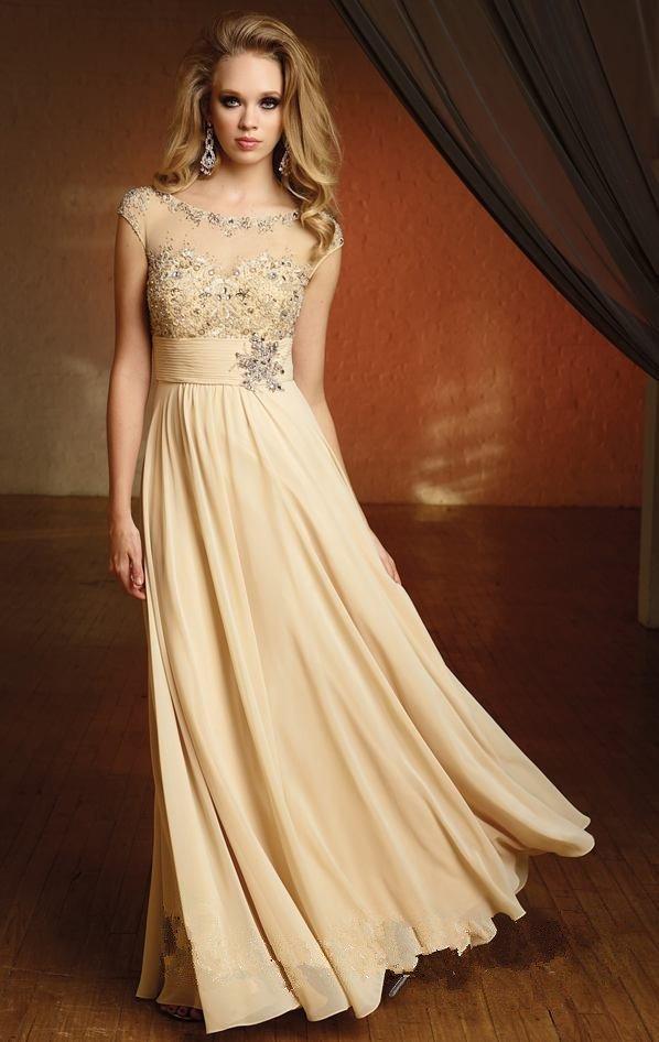 Цвет шампань платье