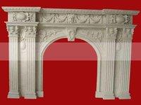 Камин Stone Fireplace/marble fireplace/granite fireplace