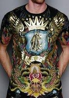 Мужская футболка men fashion brand CA O-neck T-shirts M L XL XXL sizes