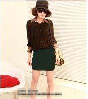 Женские блузки и Рубашки Brand New 20pcs/lot 3color 08568