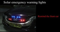 Предупреждающие индикаторы Solar emergency warning lights wiring net explosive flash LED can be color rear-end