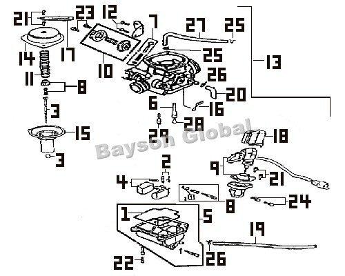 43cc engine diagram
