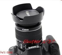 бесплатно новый! 1шт камеры бленда ew - 60c для canon 600d 550d 1100d 450d, 500d 350d 18-55 мм