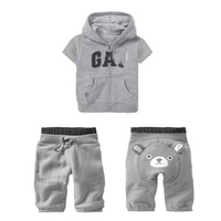 Комплект одежды для девочек 1 set, Baby 2pcs Children Classic Summer Suit, Baby Blouset+Pants, Baby Set