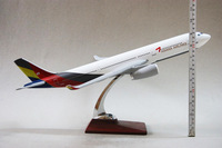 Игрушечная техника и Автомобили A330-200 Asiana Airlines, 47cm, resin airplane models, airplane model, airbus prototype machine