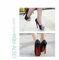 Туфли на высоком каблуке sexy ladies fashion rivets platform high heel PU leather evening dress shoes women pumps JJM838-3NF