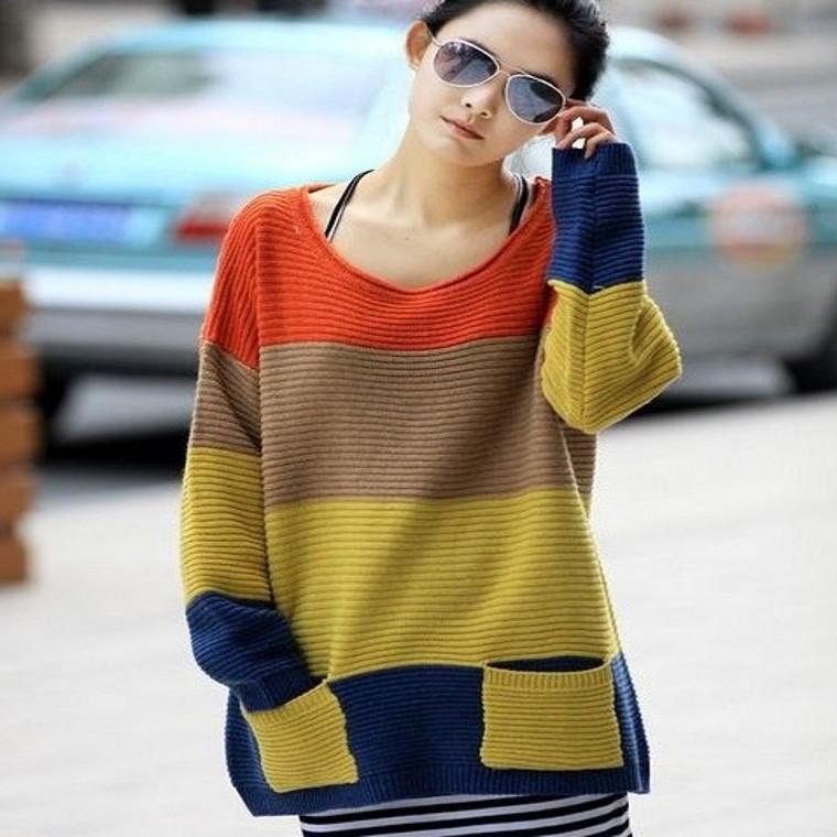 Модные Вязаные Джемпера Для Женщин Доставка