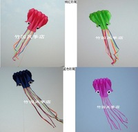 Colorful Octopus Soft Chinese Outdoor Sport Flying Kite - 5.5m long Kid Toy Gift/retail and