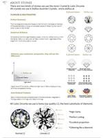 Серьги-гвоздики Jack 5 0,5 ct CZ UE0077