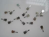 Наклейки для ногтей MS-231-1 Metal Silver Nail Art Metal Sticker Nail Art Decoration Fancy Outlooking