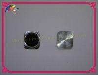 Клавиатура для мобильных телефонов 50pcs/lot 100% High Quality Replacement Home Button Keypad with Metal Ring for iPhone 5 5G like 5S 5GS