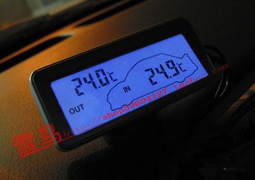 Цифровой термометр своими руками на авто