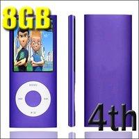 """MP4-плеер OEM ! 8GB 1.8"""" 4 MP3 MP4 FM 9 4TH"""