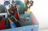 Корейский стиль, новый милый мультфильм карандаш коробки/карандаш дело/карандаш мешок хранения поле Канцтовары Держатели бумаги