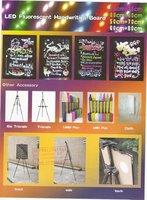 Конденсатор Handwriting illuminated Menu Sign Board 60*80cm LED Fluorescent