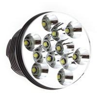 новый фонарь led высокой мощности с 12-cree xm-l t6 5-режиме linternas cree 13000 люмен