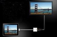 для ipad кабель адаптера vga для ipad разъем док-станции к vga-адаптер, с розничной упаковке