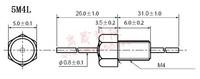 Электронный фильтр Emi filter capacitor feedthrough capacitors series /M4/1000PF/100VDC/10A/102/5M4/ long legs