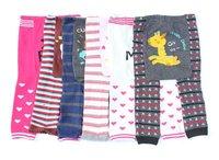 wholesale brand children clothes,6 designs baby hosiery ,cotton leg-warmer,burton pants ,sz 6-36M,18pcs/lot ,BUSHA E