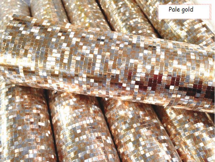 Luxury gold foil mosaic background flicker wall paper for Cheap modern wallpaper