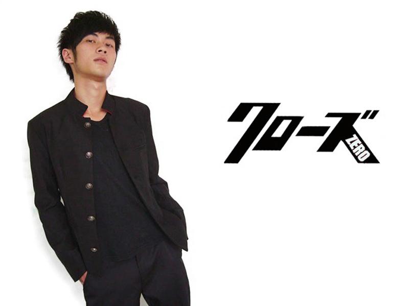 Free Shipping Streetwear Crows Zero Novelty Jacket Shun Oguri's suits jacket&pants&waistband
