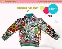 Новые прибытия падения ребенка девочек теплое пальто для детей хлопок 1-6y фея пиджаки ajiduo новый дизайн одежды